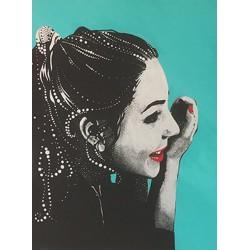 schminkbar 2019,  acryl auf leinwand, 60/80 cm
