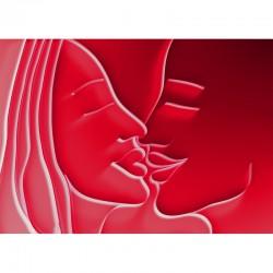 kiss, phase 2, foto auf alu dibond, 70/50cm