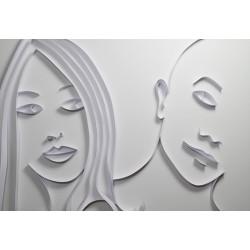 Wandbilder zur Never Ending Story, Papier auf Schaumstoffplatte, Format 70/50 cm