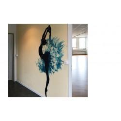 1132 wandbild ballerina,...