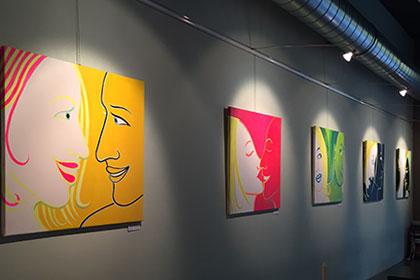Ausstellung in der Kunstbar